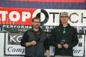Left to Right: Chris Willard (1st), Sean Hopkins (2nd)