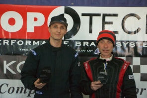 Left to Right: Ryan Passey (1st), Jerry Arnone (3rd)